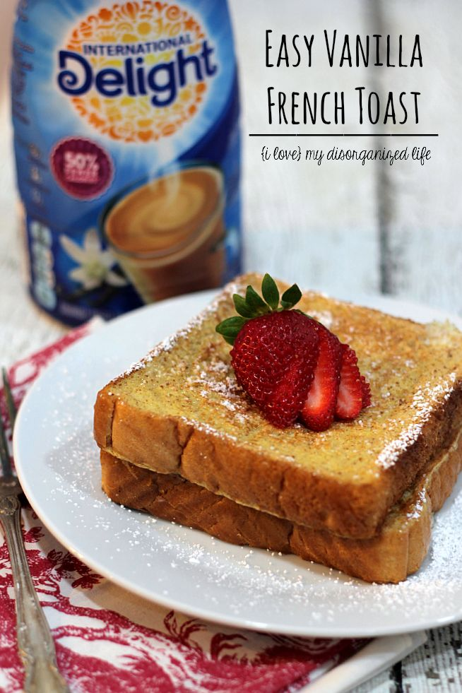 With just one simple ingredient, you can give your french toast a fabulous french vanilla flavor!