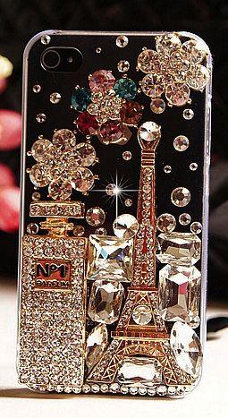 Luxury bling iphone case  I Love Paris !!!!!!