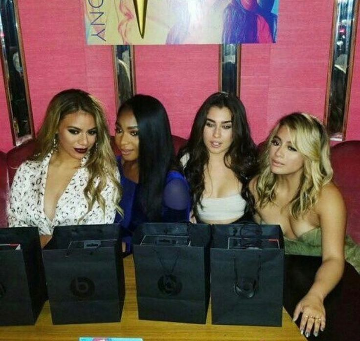 Fifth Harmony at their album release party