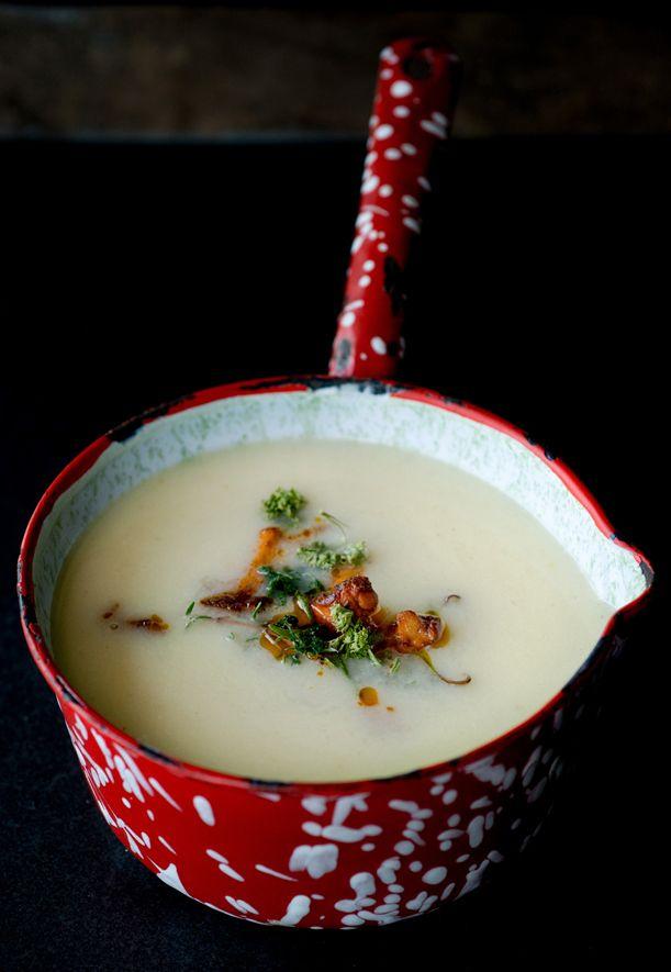 Cauliflower Horseradish Soup