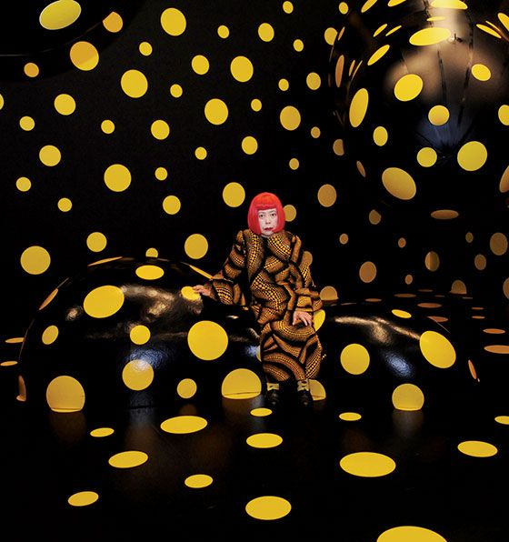 The Art of the Flame-Out  After 40 years in a mental-hospital exile, ahead-of-her-time Japanese rabble-rouser Yayoi Kusama is making trouble again. This time, the art world is paying attention.