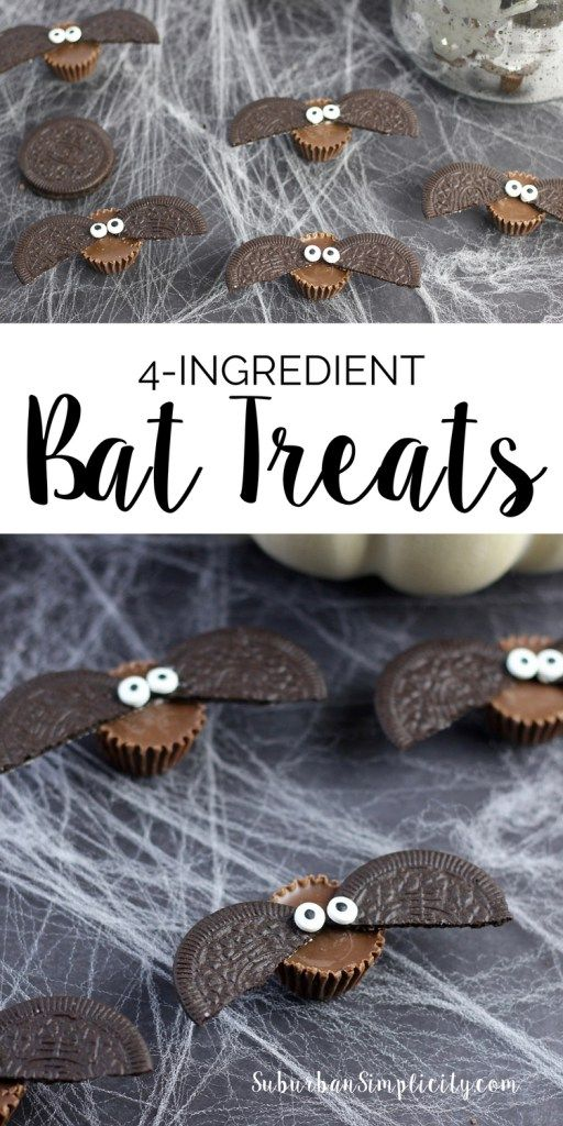 Looking for an adorable treat idea to serve at your Halloween party? Try these…