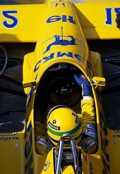 Ayrton Senna - Lotus Honda - 1987