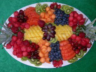 fruit tray fruit pop