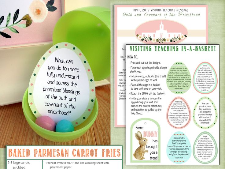 1024 best visiting teaching images on pinterest church ideas april 2017 printable visiting teaching message and handouts negle Image collections