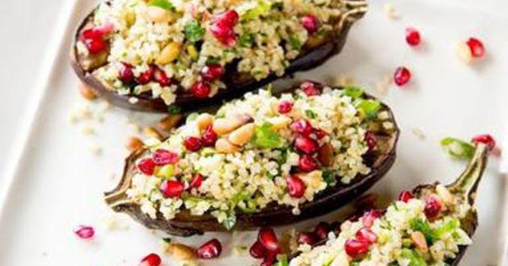 α γεμιστά λαχανικά είναι ένα πιάτο που τρώμε πολύ τις καλοκαιρινές μέρες και ειδικά χωρίς κρέας για να ελαφρύνουν. Αυτή η συνταγή θα σε κάνει να αγαπήσεις τις μελιτζάνες!