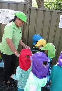 Lidcombe Preschool, NSW. Everyone participated in the clean up activity and had great fun helping each other. All the rubbish was placed into the correct bins for disposal. #enviroweek13