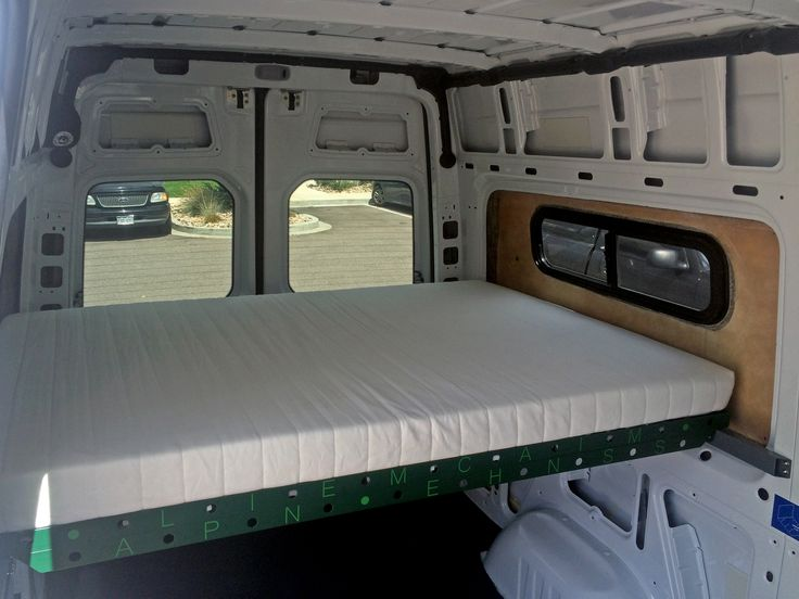 Alpine Mechanisms Knocked This Bed Design Out Of The Park Sprinter Van ConversionBus