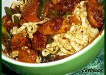 Kuřecí maso s čínskými nudlemi