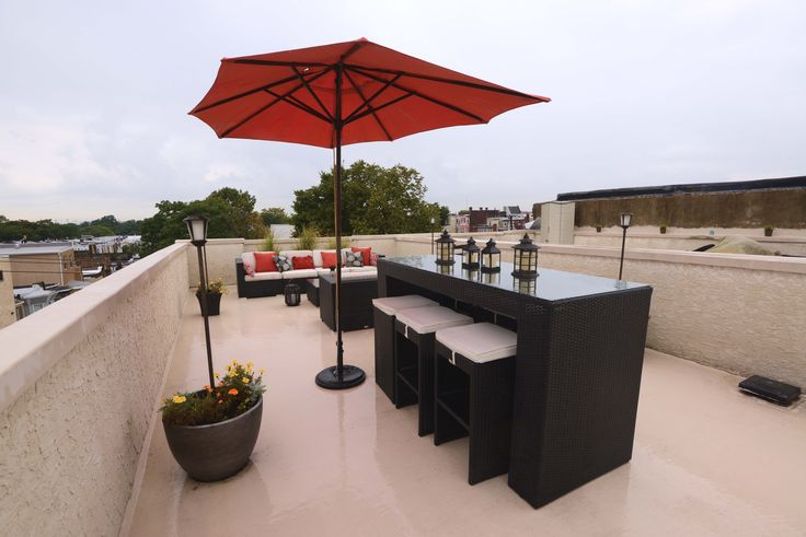 Roof Top Deck Drinks At Your Place Modular Home