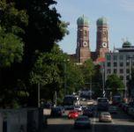 Arrived in Munich from Heidelberg