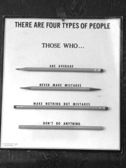 The four types.