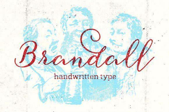 Brandall (40% Off) by artimasa on @creativemarket