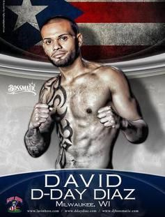 David's official fighter's photo is shown here. He's always in great shape, a tribute to the great boot camp cardio classes he takes at Waukesha MMA.  When he's not teaching boxing classes for kids and adults, he's training.  There's a reason he's in such great shape; and that reason is that he trains at one of the best gyms in WI.