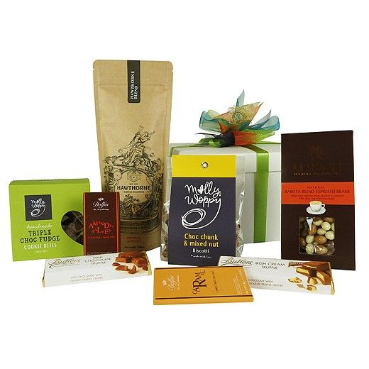 12 best gourmet gifts images on pinterest gourmet gift baskets caffe mocha coffee chocolate gift box bestow gifts auckland delivery throughout new negle Gallery