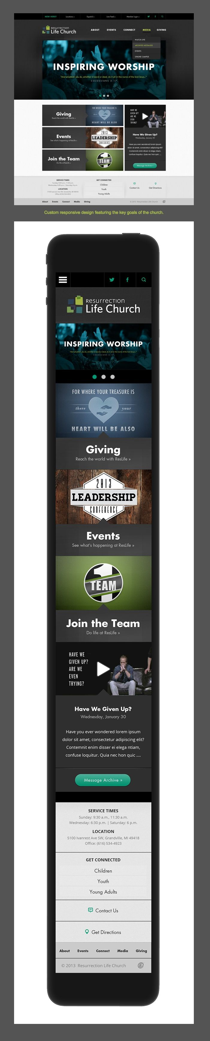 20 best images about Responsive Church Websites on Pinterest ...