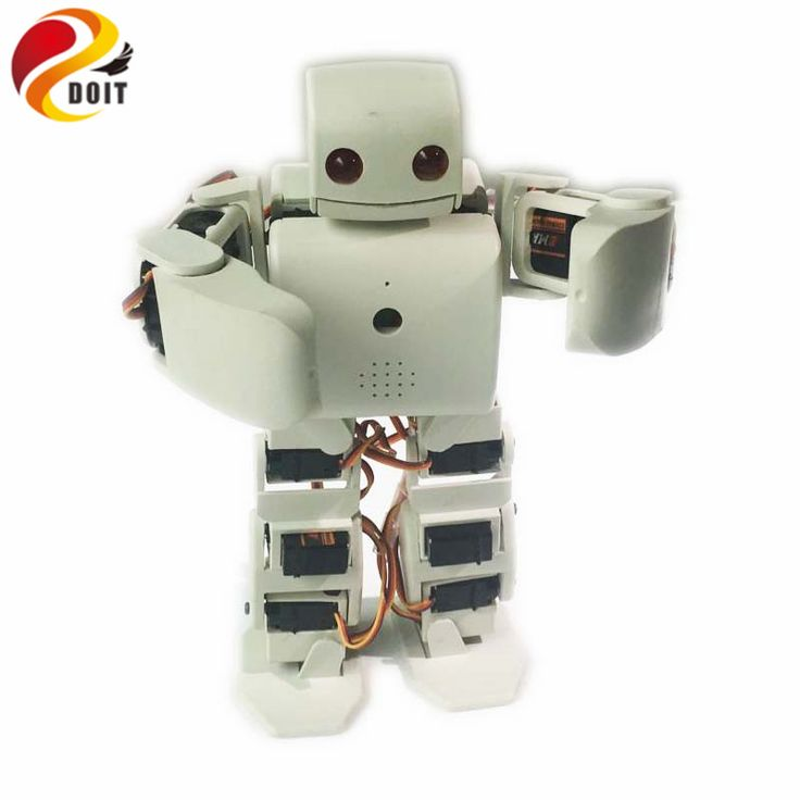 Official DOIT RC 18DOF Biped Robotic Educational Robot Humanoid Robot Kit Servo Bracket With 18pcs Servos for Dance/ Fighting
