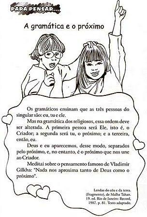 ATIVIDADES DE EDUCAÇÃO RELIGIOSA