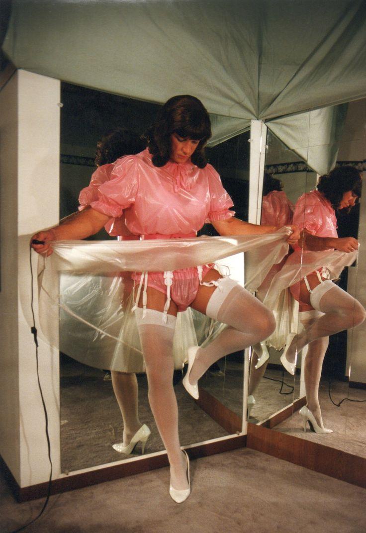 Sissy satin maid spanked amp cum by madamec - 1 part 1
