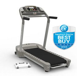 Yowza Sebring Treadmill Review - Our 2015 Best Compact Treadmill award winner! Good feel for a machine in an incredibly competitive price point. For a full size treadmill, it is very space efficient. Although it has a compact size, it is well built.