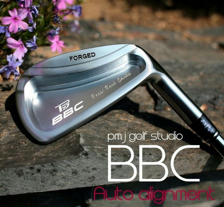 Bagel back cavity BBC Iron PMJ GOLF STUDIO