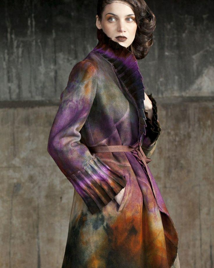 Ana Livni - felt coat