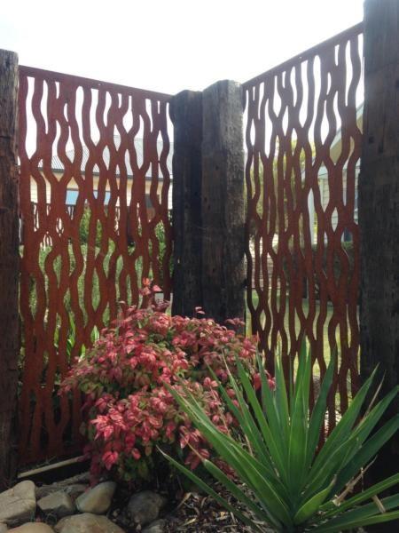 Metal laser cut rust Tree Bark feature wall panel privacy screen | Other Home & Garden | Gumtree Australia Stonnington Area - Malvern | 1114140903