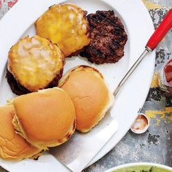 Lamb-Bacon Burgers with Spicy Aioli Recipe