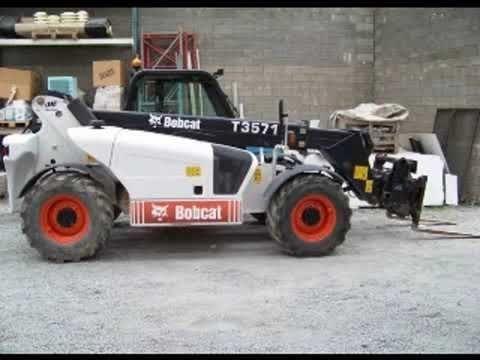 Bobcat T3571 T35120 Telescopic Handler Parts Catalogue