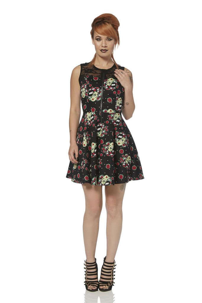 Jawbreaker Zombie Girl Dress - 2446