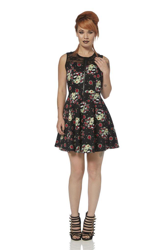 Jawbreaker Zombie Girl Dress - 2446