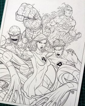 Marvel Adventures Fantastic Four (2005) #48 by rogercruz