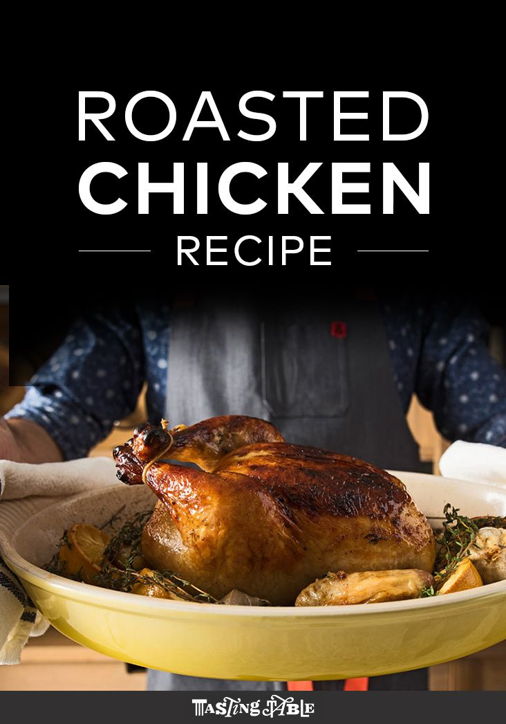Brined then smothered in butter, this simple roast chicken is a game changer.