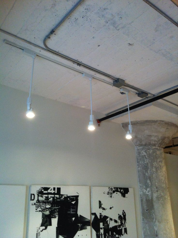Low voltage lighting at Undefeated Inc. in downtown LA.
