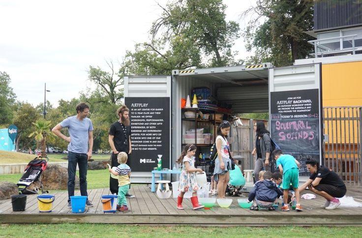 HOT: Artplay Backyard, Birrarung Marr, Melbourne http://tothotornot.com/2016/04/artplay-backyard-birrarung-marr-melbourne/