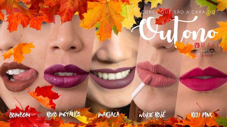 i9 Make: cores que são a cara do outono! – i9Life | Vendas Diretas e Marketing Multinível