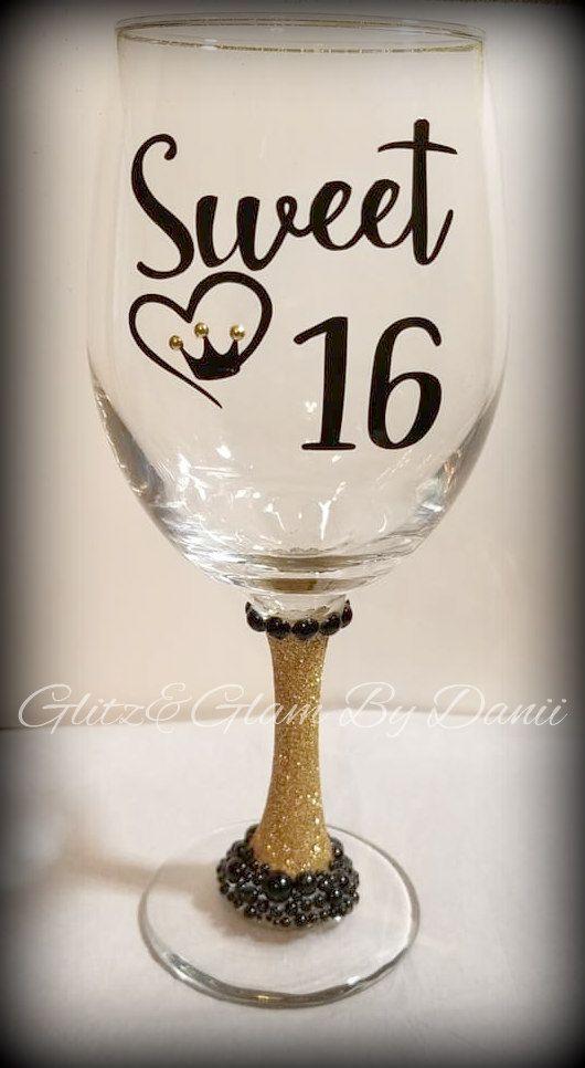 Sweet 16 Glasses