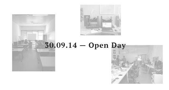 30.09.14 — Open Day   Fablab Venezia