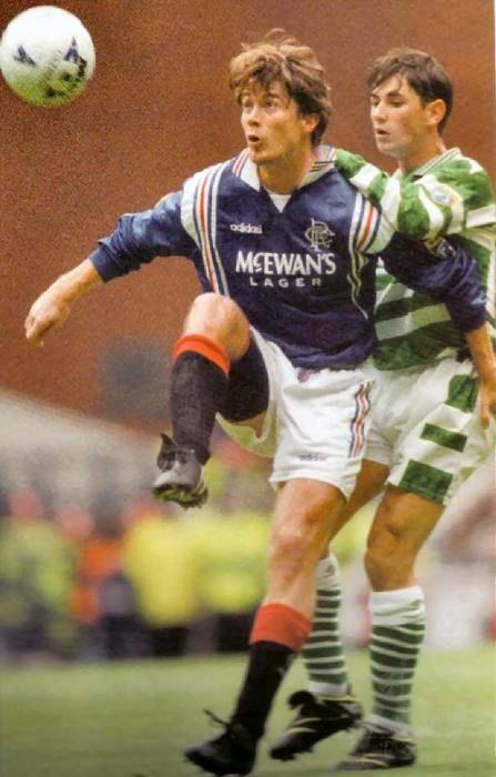 Brian Laudrup against Celtic
