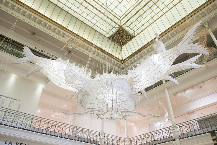 Ai Weiwei's Suspended Bamboo and Silk Beasts Highlight Ancient...