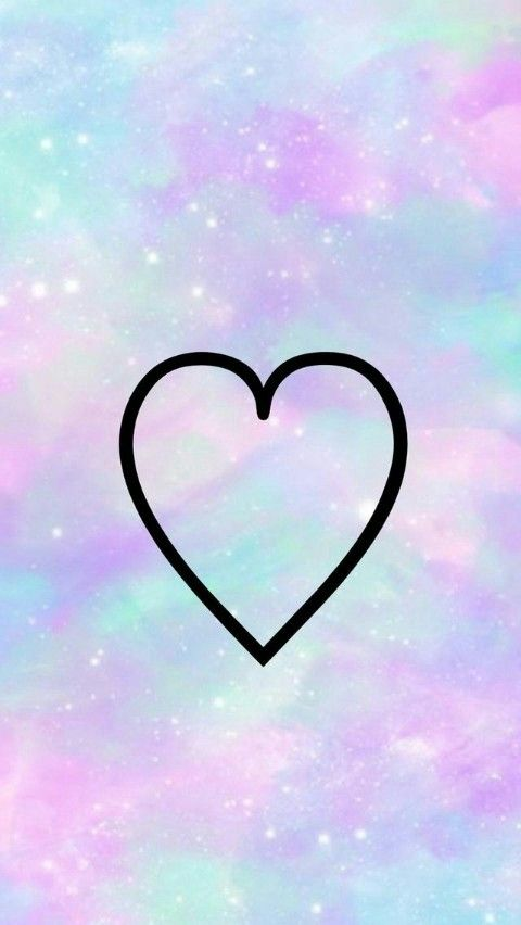 B R Walpaper Love Pinterest Backrounds Heart Iphone Wallpaper