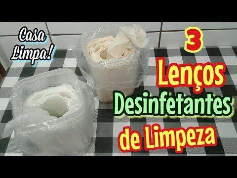 DEIXE SUA CASA LIMPA COM SUPER LENÇOS CASEIROS! - YouTube
