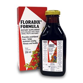 Floradix for anemia during pregnancy