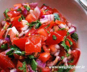 Tomato Salsa: Kcals Per Serving FREE