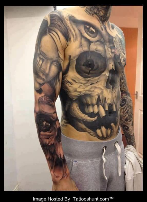 Armor tattoos google search tattoos pinterest - Wicked 3d tattoos ...
