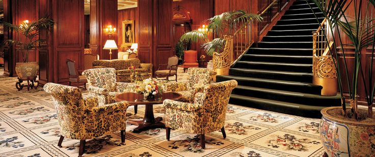 Lobby and Sitting Area - The Adolphus