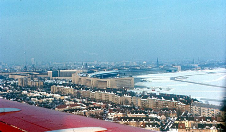 Anflug auf Tempelhof, 1970