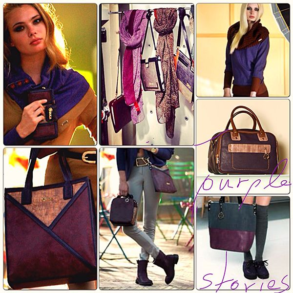 Purple Stories !!! #doca #fw1314 www.doca.gr