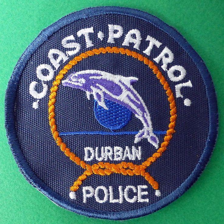 SOUTH AFRICA POLICE COAST PATROL AFRICAN COASTAL DOLPHIN FISH vintage BLUE PATCH | Collectables, Memorabilia, Police | eBay!
