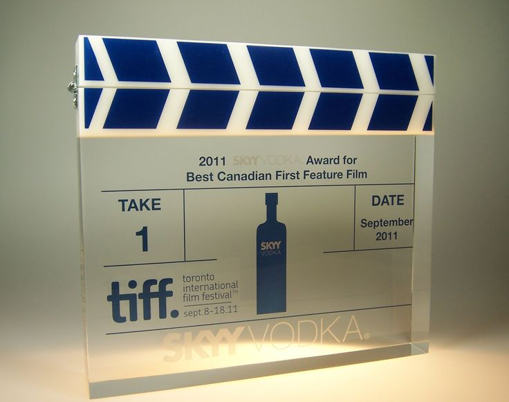 Recognition Award Ideas – Lucite Embedment – Film Award